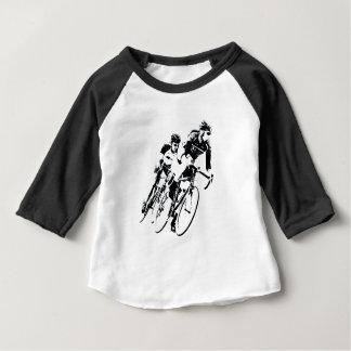 T-shirt Pour Bébé Allez à vélo les coureurs dans le tour