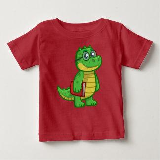 T-shirt Pour Bébé Alligator futé