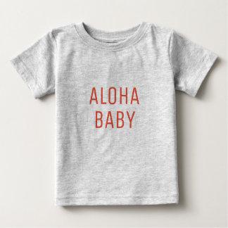 T-shirt Pour Bébé Aloha conception des textes de bébé