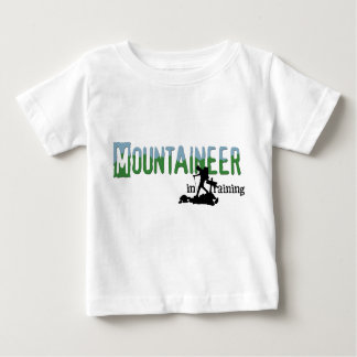 T-shirt Pour Bébé Alpiniste dans la formation
