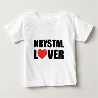 T-shirt Pour Bébé Amant de Krystal