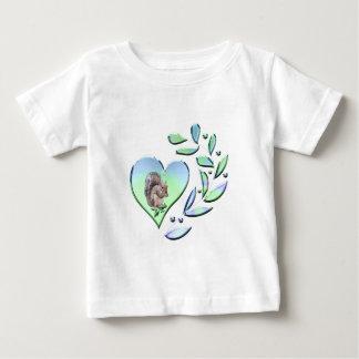 T-shirt Pour Bébé Amant d'écureuil