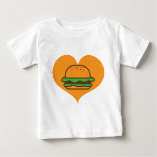 T-shirt Pour Bébé Amant d'hamburger
