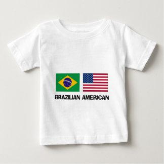 T-shirt Pour Bébé Américain brésilien