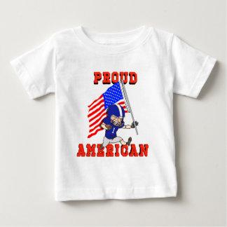 T-shirt Pour Bébé Américain fier