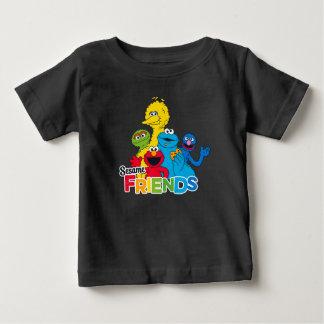 T-shirt Pour Bébé Amis de sésame du Sesame Street |