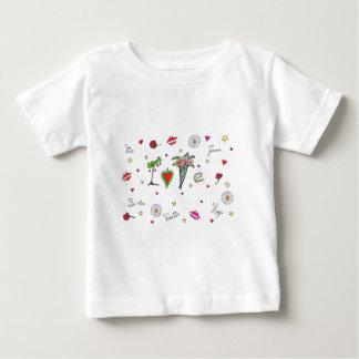 T-shirt Pour Bébé Amour