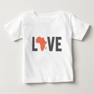 T-shirt Pour Bébé amour Afrique