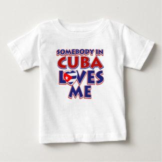 T-shirt Pour Bébé Amour cubain