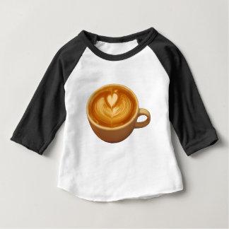 T-shirt Pour Bébé Amour de café