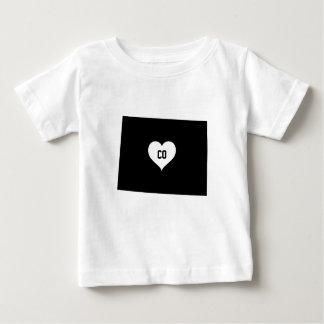 T-shirt Pour Bébé Amour du Colorado