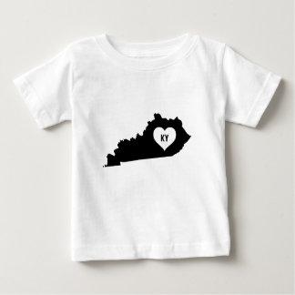 T-shirt Pour Bébé Amour du Kentucky