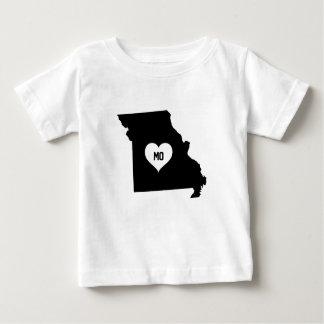 T-shirt Pour Bébé Amour du Missouri