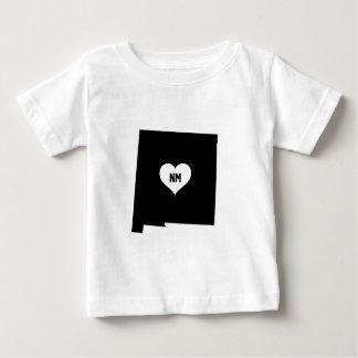 T-shirt Pour Bébé Amour du Nouveau Mexique