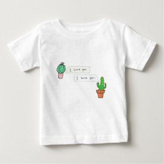 T-shirt Pour Bébé Amour épineux de cactus