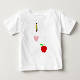 T-shirt Pour Bébé amour vivant teach4