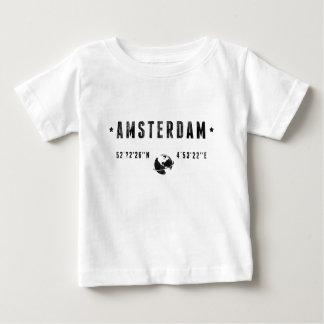 T-shirt Pour Bébé Amsterdam