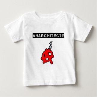 T-shirt Pour Bébé Anarchitecte - Jeux de Mots - Francois Ville