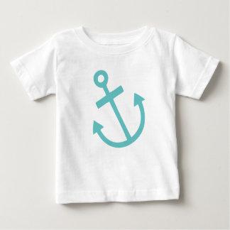 T-shirt Pour Bébé Ancre nautique de petit capitaine