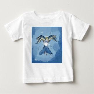 T-shirt Pour Bébé Ange faisant des étoiles