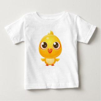T-shirt Pour Bébé Animal de bébé de poulet dans le style doux Girly