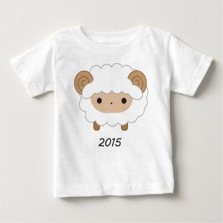 T-shirt Pour Bébé Année de la chemise d'enfants des moutons 2015