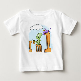 T-shirt Pour Bébé Anniversaire d'amusement de Dino ęr