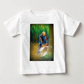 T-shirt Pour Bébé Anniversaire de cadeau de Noël d'arboriste de