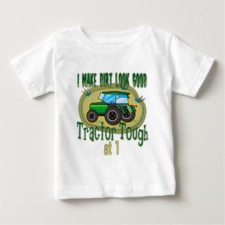 T-shirt Pour Bébé Anniversaire dur de tracteur ęr