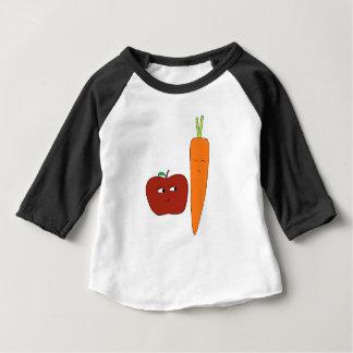 T-shirt Pour Bébé Apple-Carotte