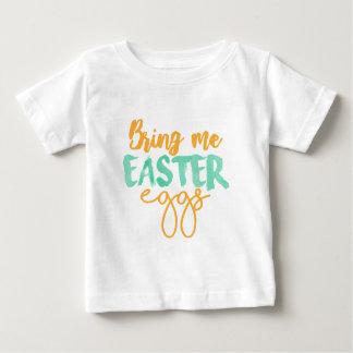 T-shirt Pour Bébé Apportez-moi les oeufs de pâques