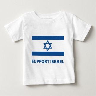 T-shirt Pour Bébé Appui Israël
