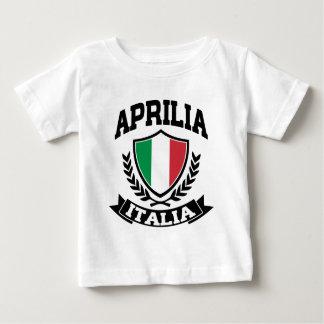 T-shirt Pour Bébé Aprilia Italie