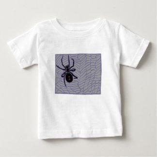 T-shirt Pour Bébé Araignée de veuve noire