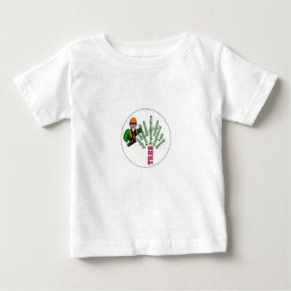 T-shirt Pour Bébé Arboriste de chirurgien d'arbre à la tronçonneuse