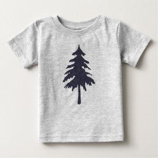 T-shirt Pour Bébé Arbre bleu