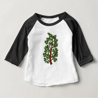 T-shirt Pour Bébé Arbre de branche de pin