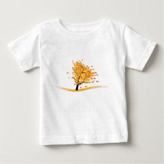 T-shirt Pour Bébé arbre de chute