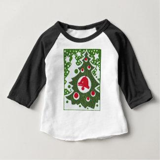 T-shirt Pour Bébé Arbre de Noël
