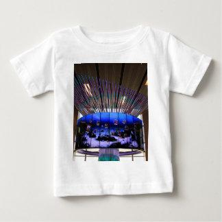 T-shirt Pour Bébé Arbre de Social d'aéroport de Singapour