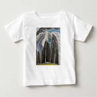 T-shirt Pour Bébé Arbres de montagne