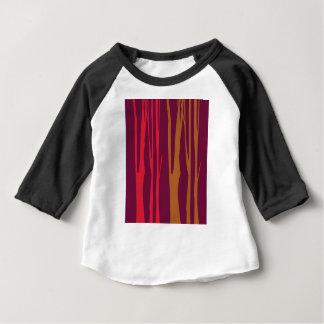 T-shirt Pour Bébé Arbres peints à la main de CHAMBRE À COUCHER de