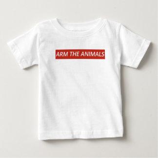 T-shirt Pour Bébé Armez les animaux