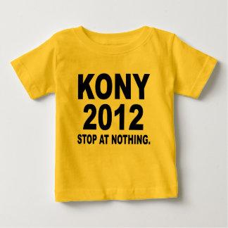 T-shirt Pour Bébé Arrêtez Joseph Kony 2012, arrêt à rien, politique