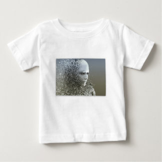 T-shirt Pour Bébé Art abstrait humain