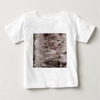 T-shirt Pour Bébé art blanc écallieux d'écorce