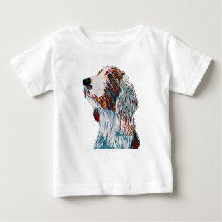 T-shirt Pour Bébé Art de springer spaniel de Gallois