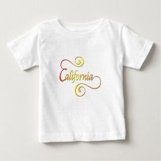 T-shirt Pour Bébé Art de typographie de la Californie