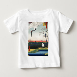 T-shirt Pour Bébé Art d'Ukiyoe de Japonais (Hiroshige Utagawa)