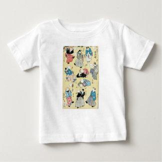 T-shirt Pour Bébé Art d'Ukiyoe de Japonais (Kuniyoshi Utagawa)